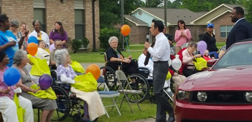Rosewood Nursing Rehabilitation Center Parade