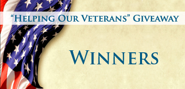"""Helping Our Veterans"" Giveaway Winners"